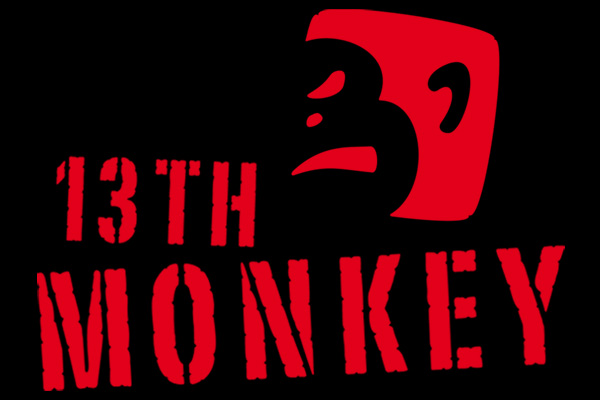 13th monkey - digital tech fractures - manipulated monkey music - redefining the paradigm of bang - feat. Thedi (KiEw) & Harm (Sonic Fiction)