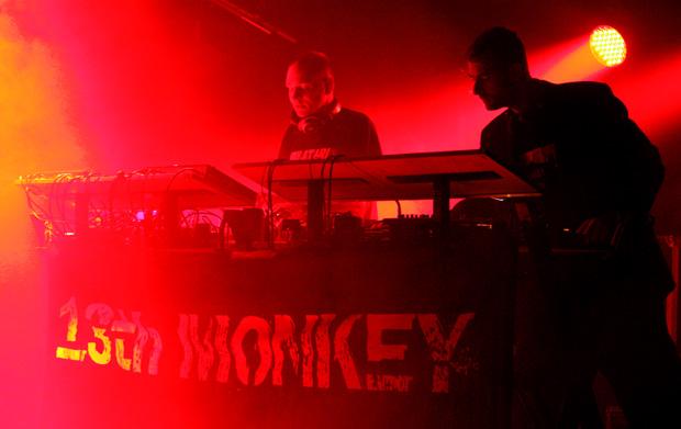 13th monkey @ wgt 2011