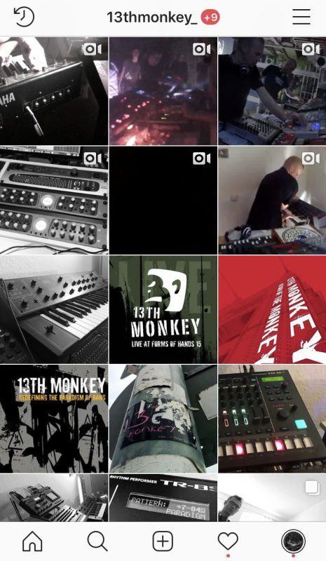 13th Monkey @ Instagram